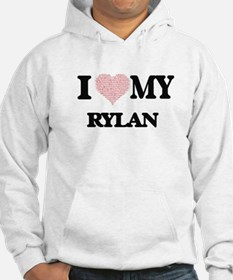 I Love my Rylan (Heart Made from Hoodie