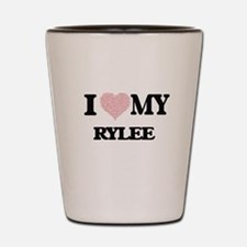 I Love my Rylee (Heart Made from Love m Shot Glass