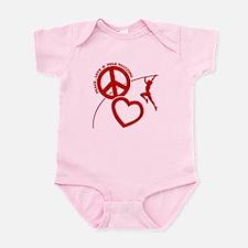 P-L-POLE VAULTING Infant Bodysuit