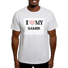 I Love my Samir (Heart Made from Love my w T-Shirt
