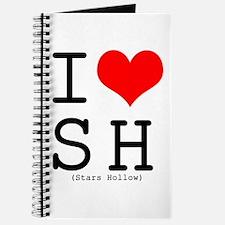 I <3 Stars Hollow Journal