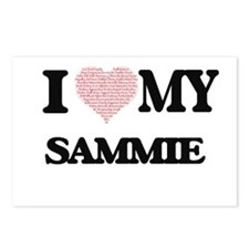 I Love my Sammie (Heart M Postcards (Package of 8)
