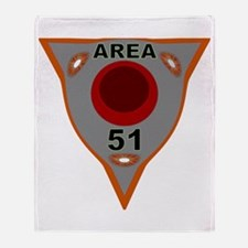 Area 51 Reverse Engineering Throw Blanket