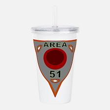 Area 51 Reverse Acrylic Double-Wall Tumbler