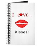 I Love Kisses Journal