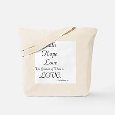 Funny Hope Tote Bag