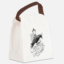 Crow King Canvas Lunch Bag