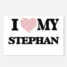 I Love my Stephan (Heart Postcards (Package of 8)