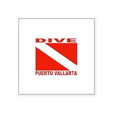 "Cool Puerto vallarta Square Sticker 3"" x 3"""