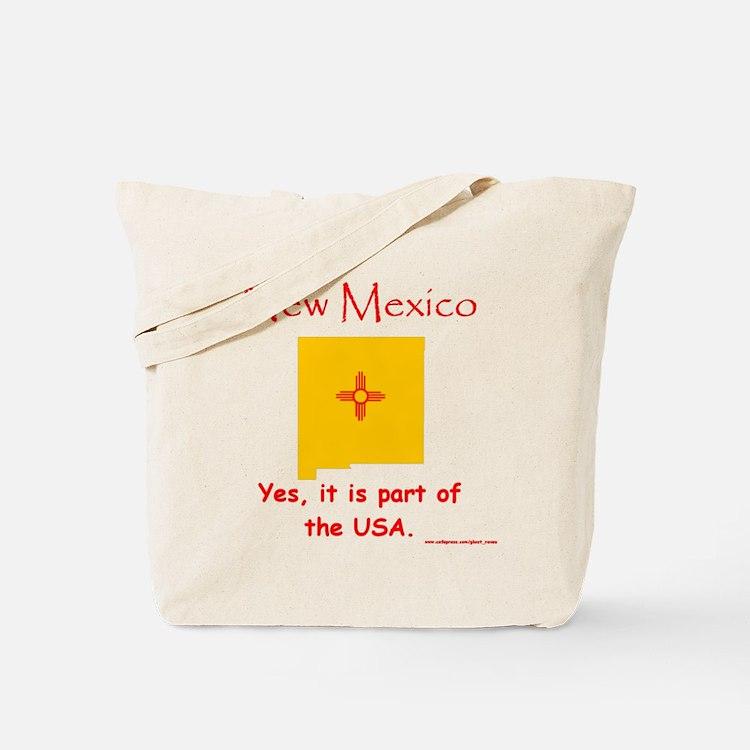 NM, USA Tote Bag