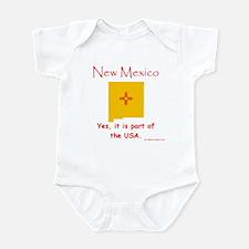 NM, USA Infant Bodysuit