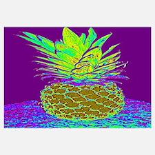 Funny Pineapple design Wall Art