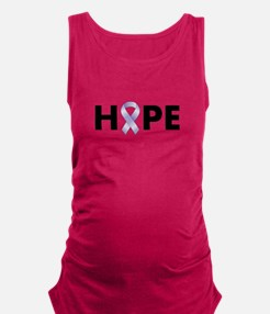 Lavender/Periwinkle Ribbon Hope Tank Top