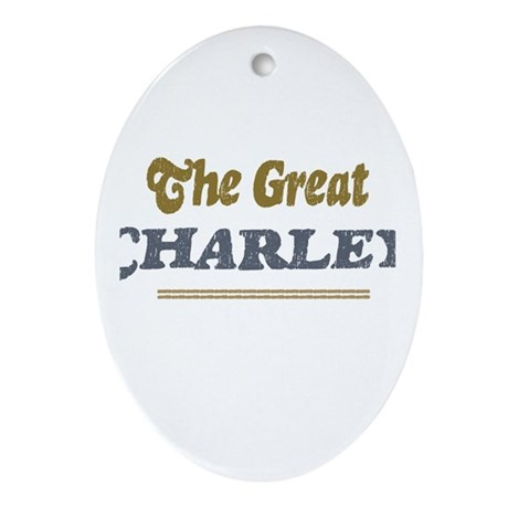 Charley Oval Ornament