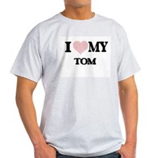 I Love my Tom (Heart Made from Love my wor T-Shirt