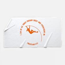 POLE VAULT - PHIL.413 Beach Towel