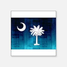 """Unique State flags Square Sticker 3"""" x 3"""""""