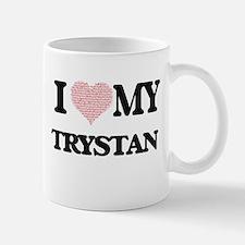 I Love my Trystan (Heart Made from Love my wo Mugs