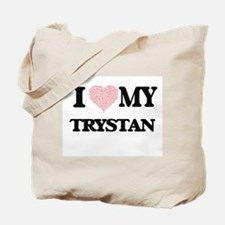 I Love my Trystan (Heart Made from Love m Tote Bag