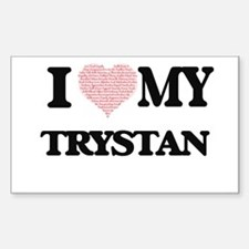 I Love my Trystan (Heart Made from Love my Decal