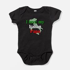 Funny Italian soccer Baby Bodysuit