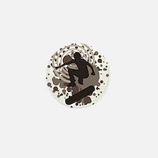 skateboard graphic Mini Button