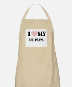 I Love my Ulises (Heart Made from Love my wo Apron
