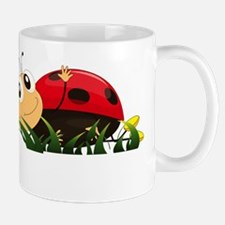 Cute Cartoon Ladybird Mugs