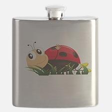 Cute Cartoon Ladybird Flask