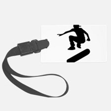 skateboard silhouette Luggage Tag