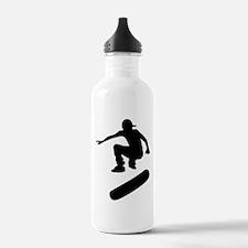 skateboard silhouette Water Bottle