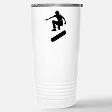 skateboard silhouette Travel Mug