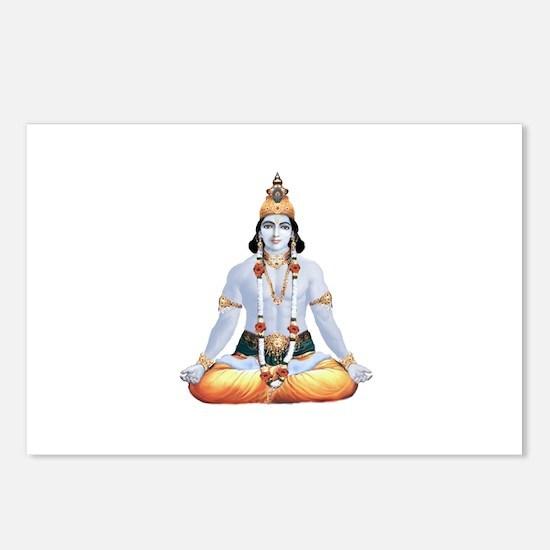 Krishna Lotus Muscle Postcards (Package of 8)