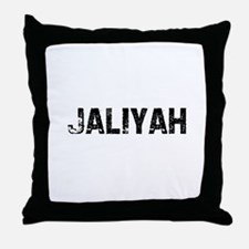 Jaliyah Throw Pillow
