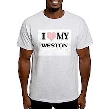 I Love my Weston (Heart Made from Love my T-Shirt