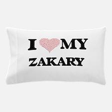 I Love my Zakary (Heart Made from Love Pillow Case
