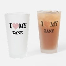 I Love my Zane (Heart Made from Lov Drinking Glass
