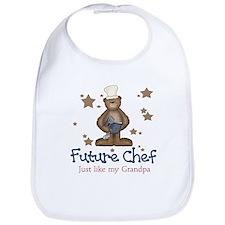 Funny Baby chef Bib