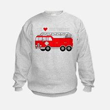Cute Fire truck Sweatshirt