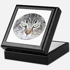 Feline Faces Keepsake Box