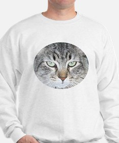 Feline Faces Sweatshirt