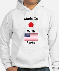 Made In Japan With American Parts Hoodie