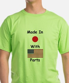 Made In Japan With American Parts T-Shirt