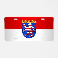 Hessen Aluminum License Plate