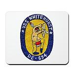 USS WHITEHURST Mousepad