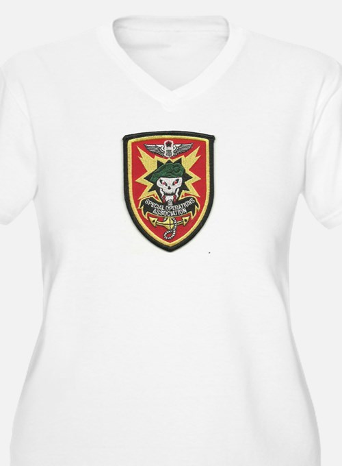 Special Operations Association Plus Size T-Shirt