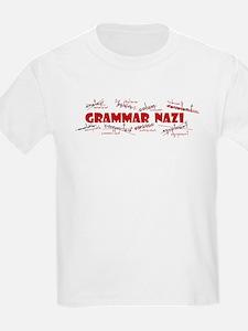 Grammar Nazi Kids T-Shirt