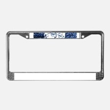 glitter bernie sanders License Plate Frame