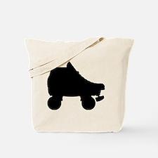rollerderby skate silhouette Tote Bag