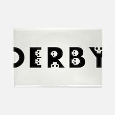 derby skulls Magnets